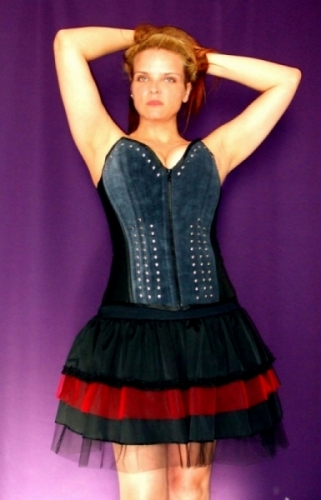 Corset Gothic Overbust